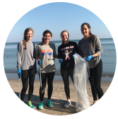 Girls-Cleaning-Lake-Erie
