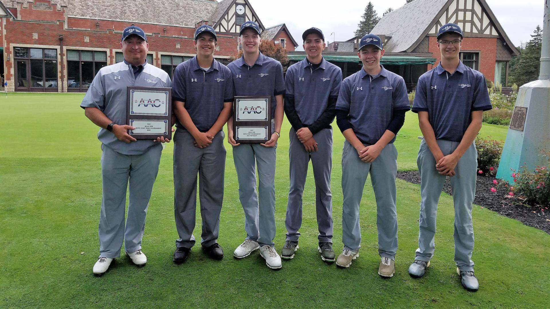 golf team aac champs