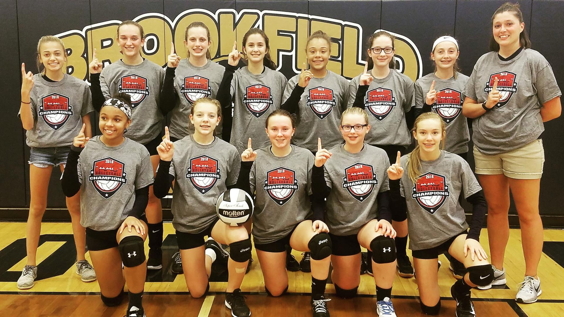 8th grade volleyball champs