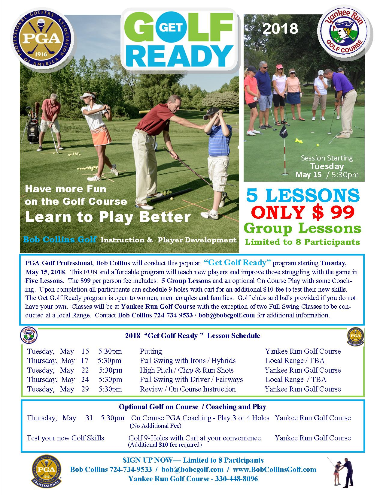 get golf ready flyer