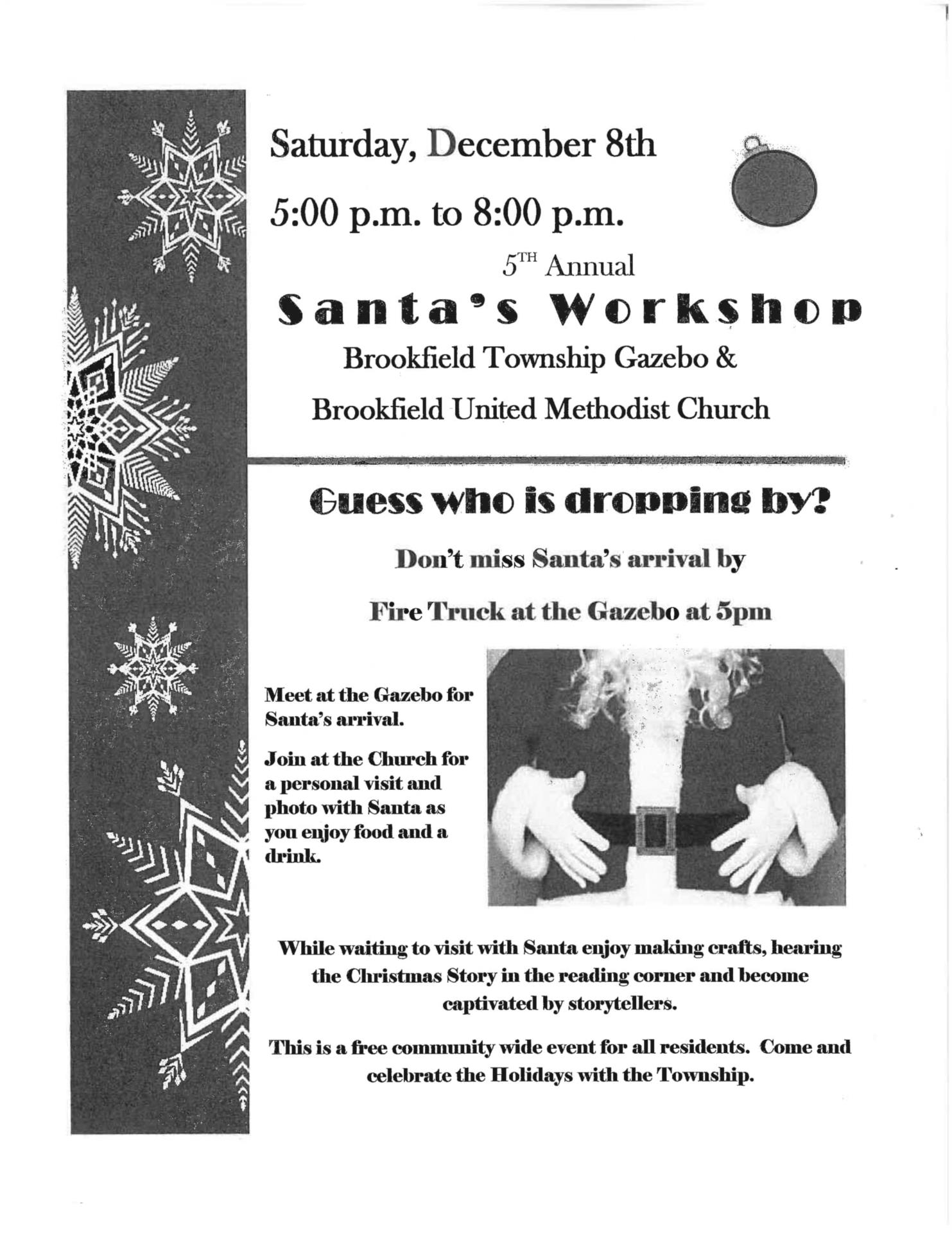 santa's workshop information