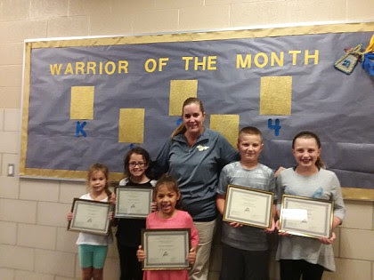 Warriors of the Month September 2017