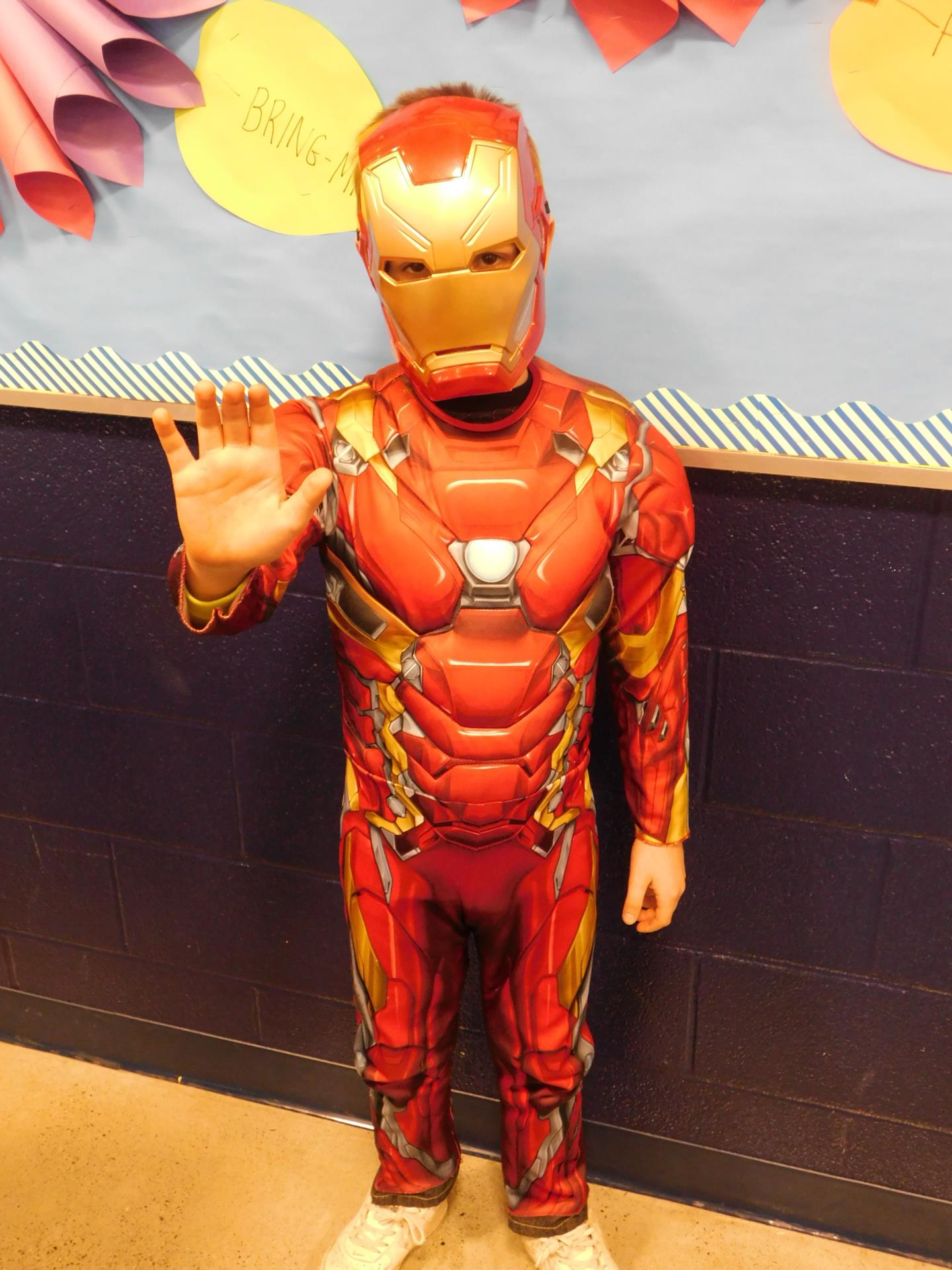 student as iron man