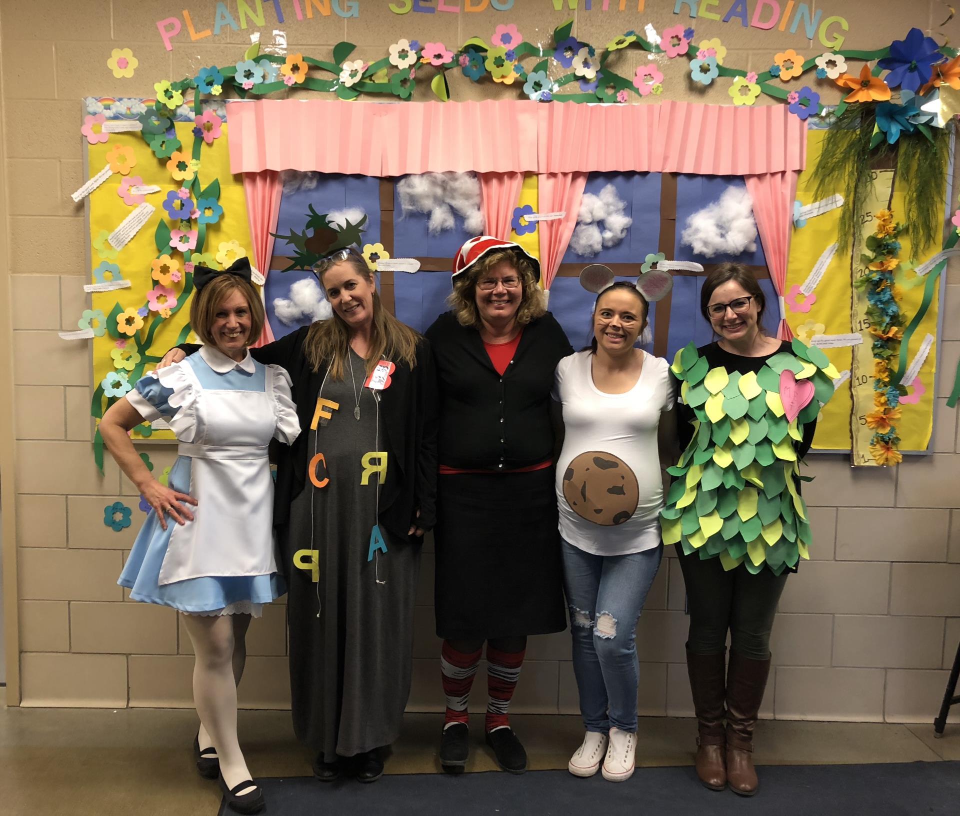 staff in costume