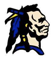 Grant County Middle School Braves Logo