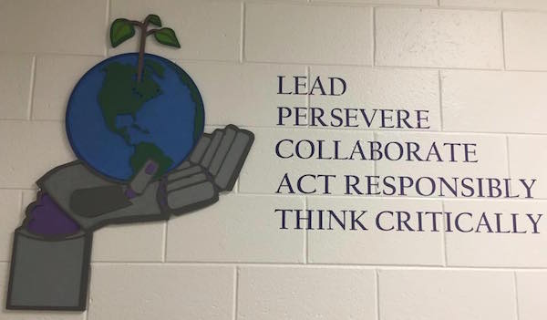 Lead, Persevere, Collaborate, Act Responsibly, Think Critically