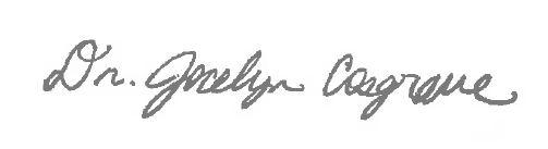 Dr. Jocelyn Cosgrave Signature
