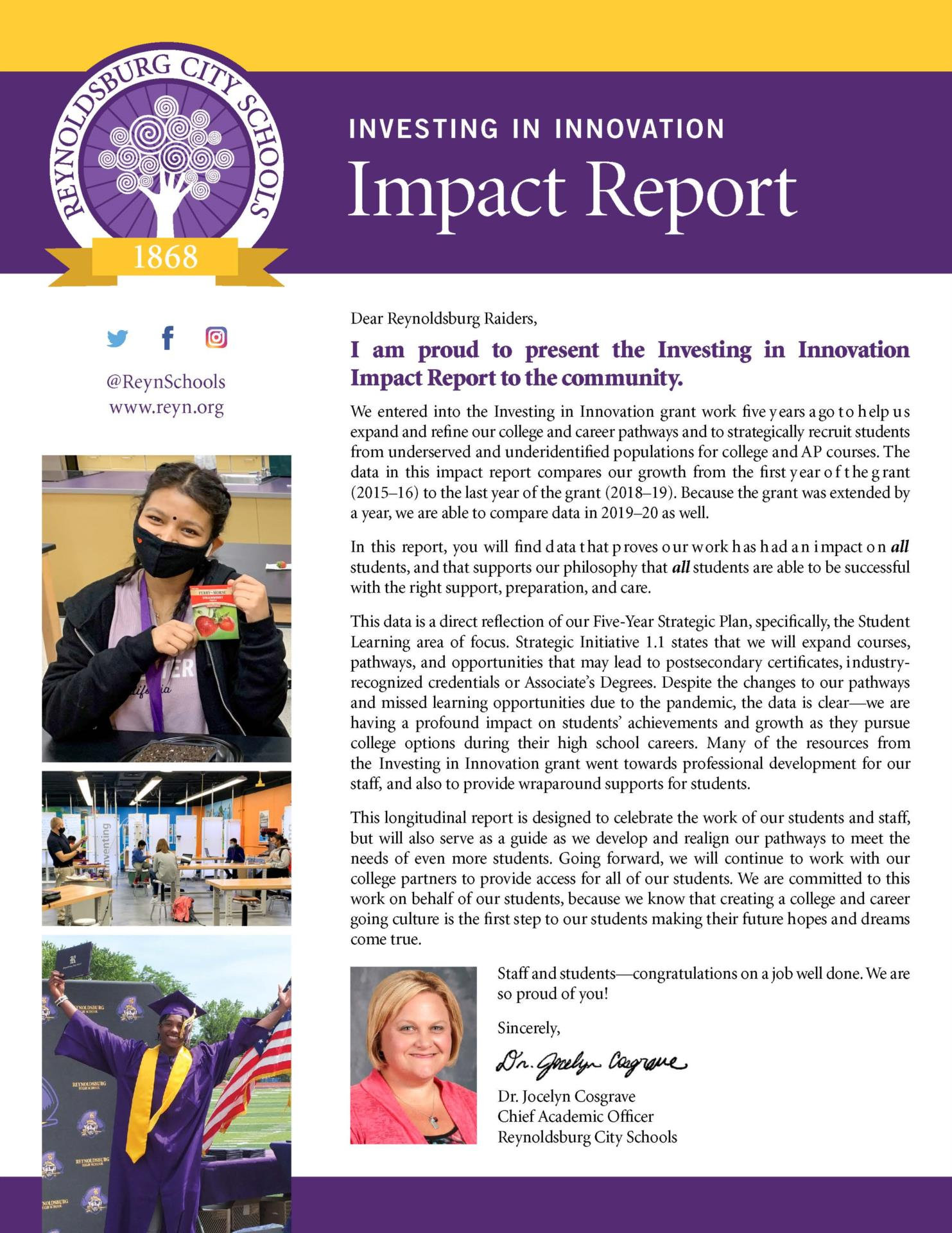 Investing in Innovation Impact Report