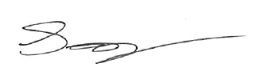 Scott Bennett Signature