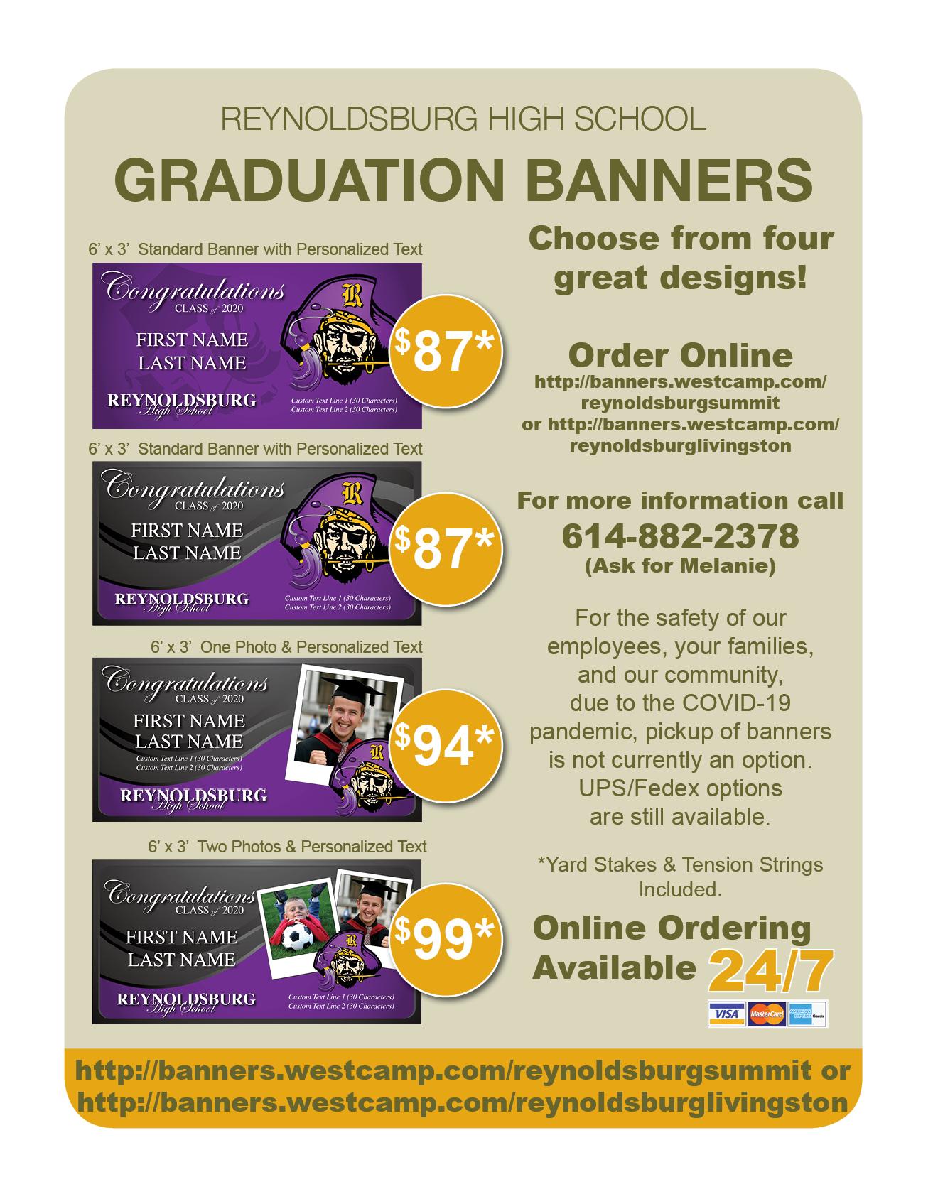 Senior Banner information