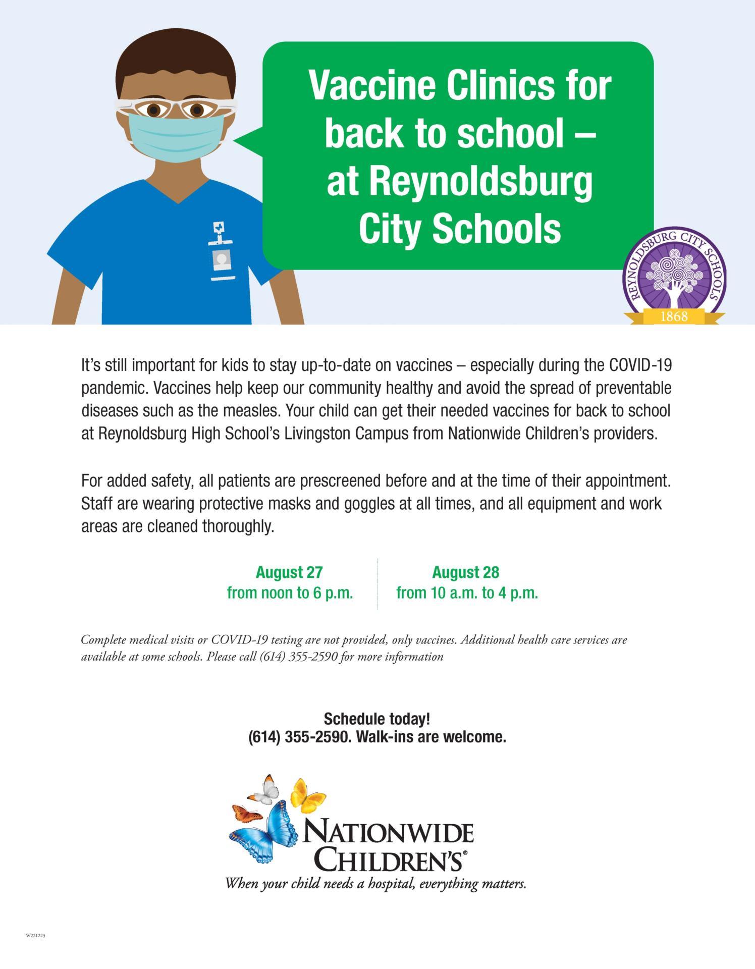 NCH Vaccine Clinics