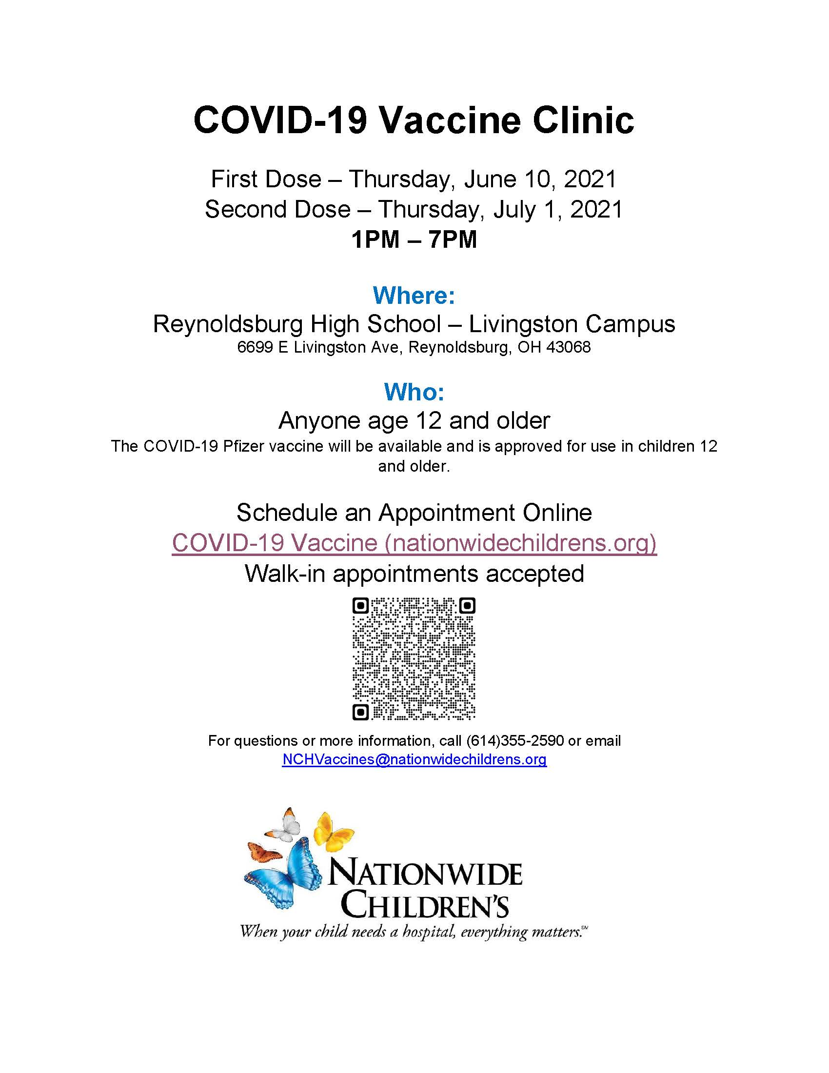 NCH Vaccine Clinic