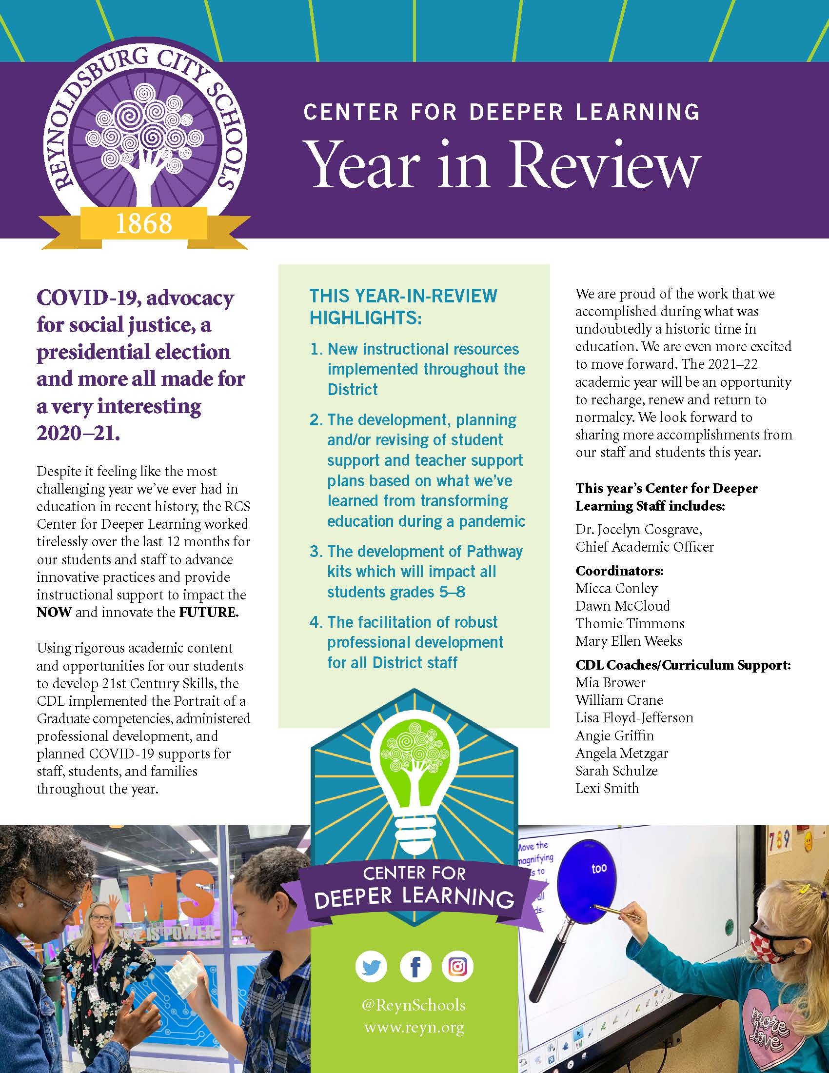 CDL Year in Review