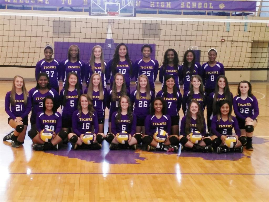 2014 Lady Tiger Volleyball Team