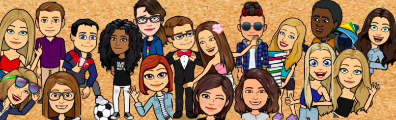 Click here to visit our Bitmoji Yearbook Lab!