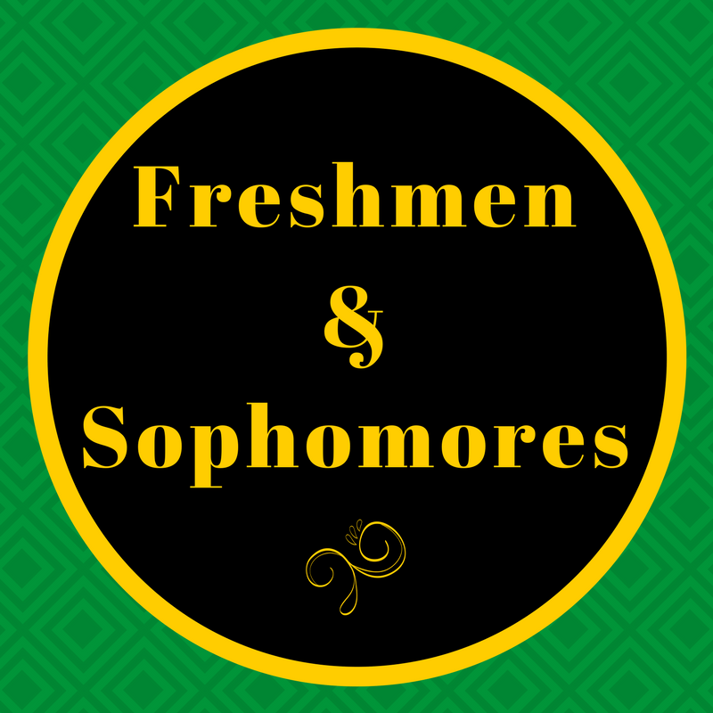 counseling information for freshmen and sophomores