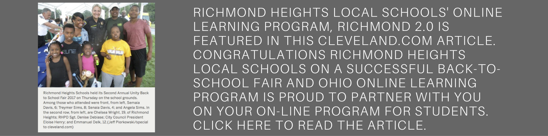 Richmond Heights Back to School Fair story
