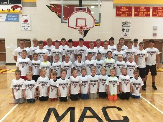 2017 Youth Boys Basketball Campers