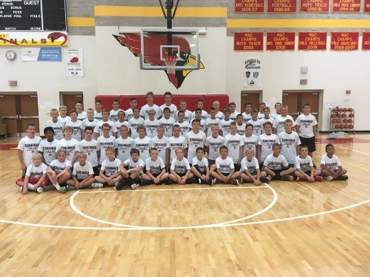 2017 Middle School Youth Basketball Campers