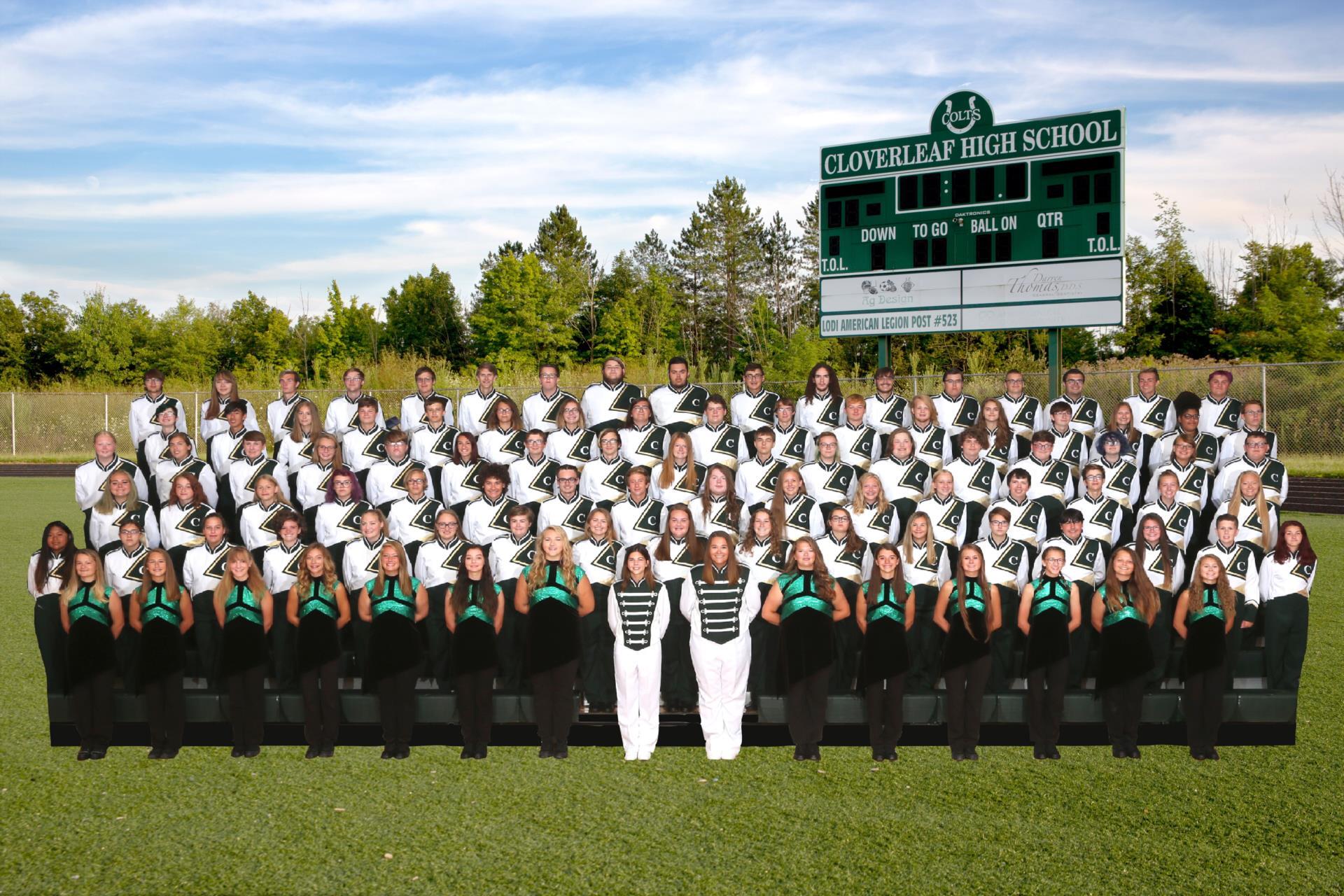 2019 Cloverleaf High School Marching Band
