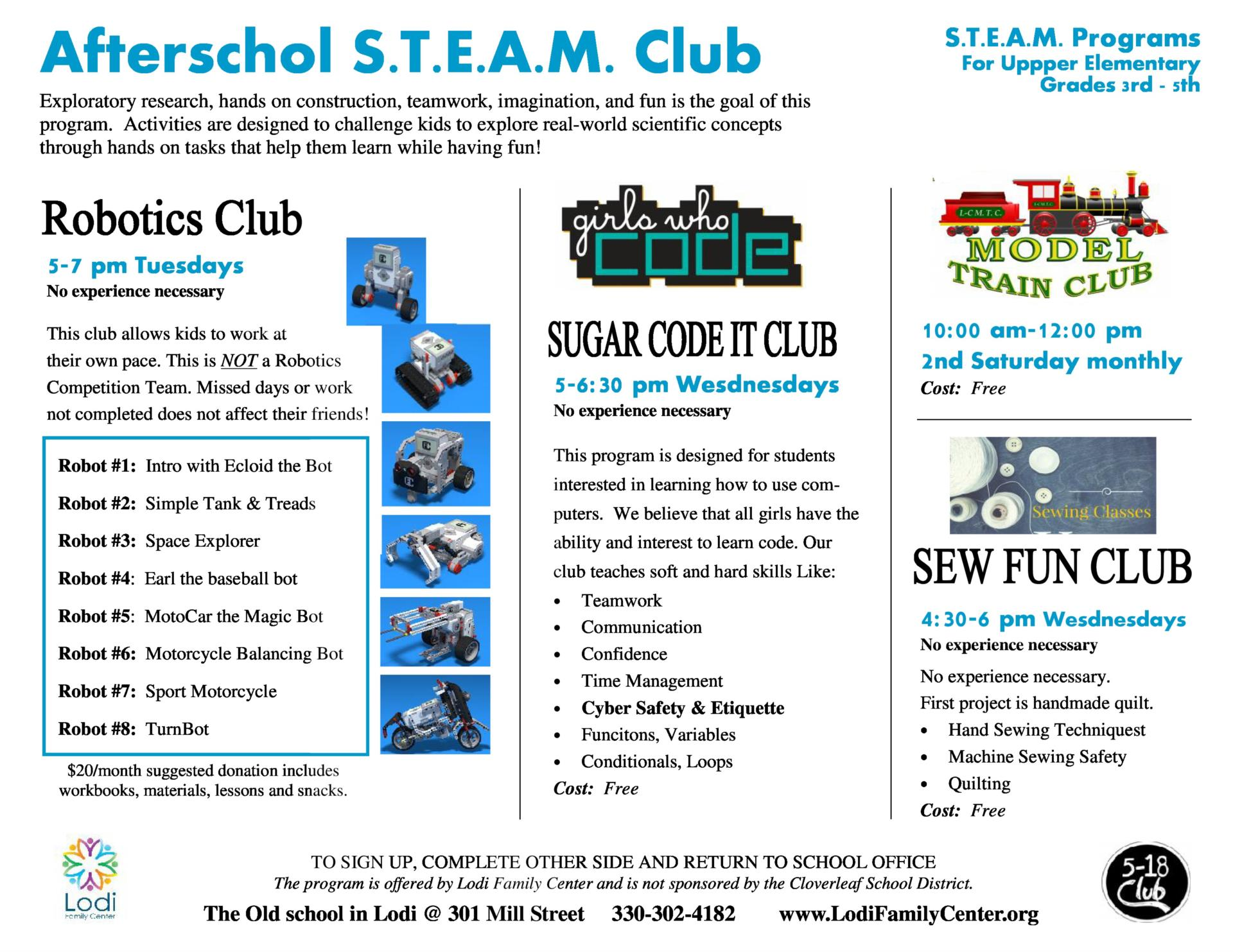 After School STEAM Club