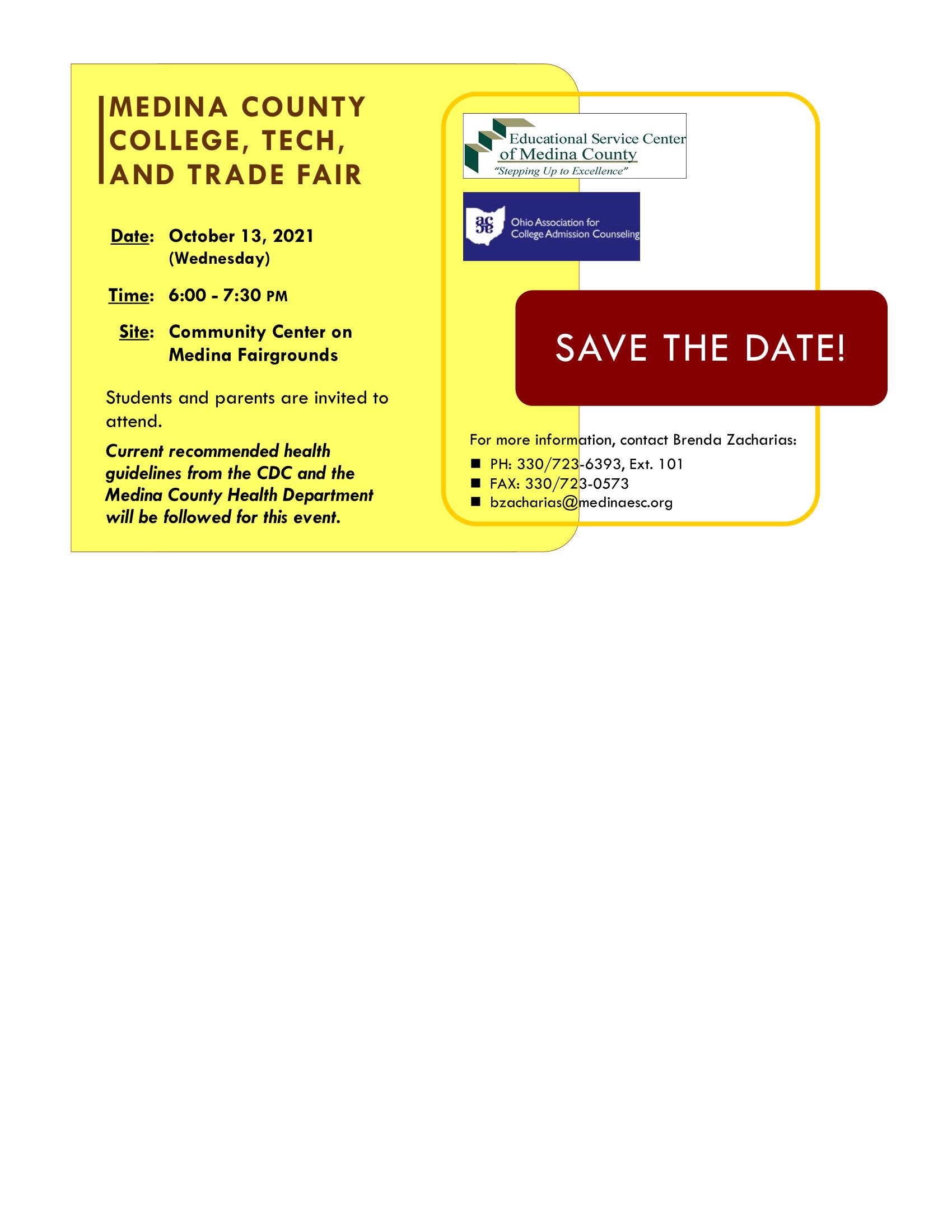 College, Tech and Trade Fair