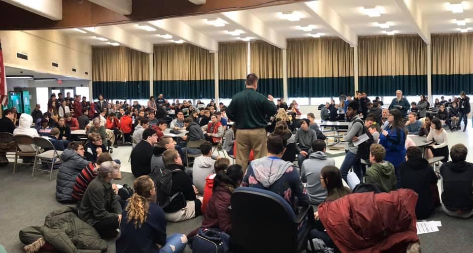 Cloverleaf Quiz Bowl Tournament opening meeting