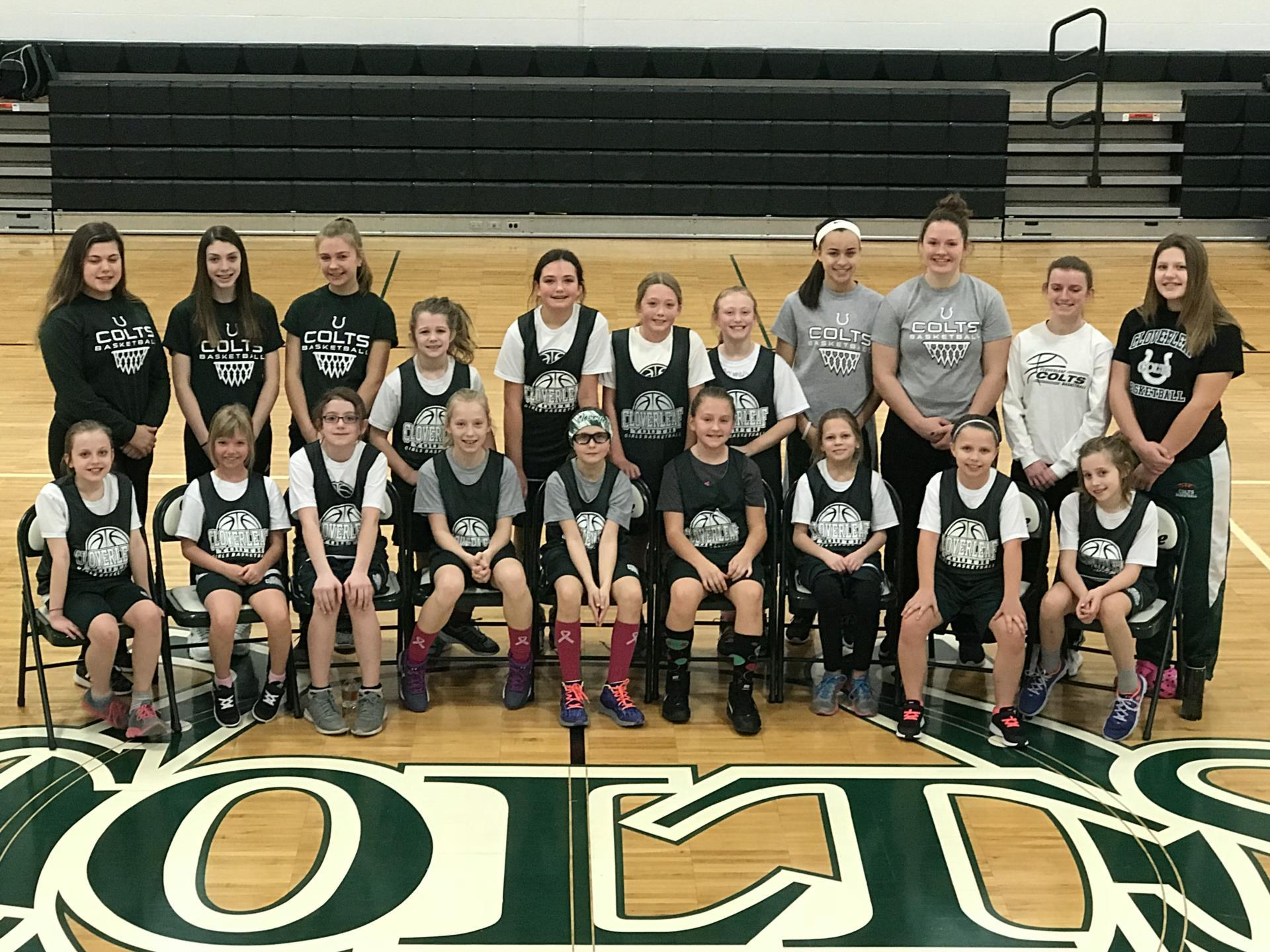 Cloverleaf youth girls basketball