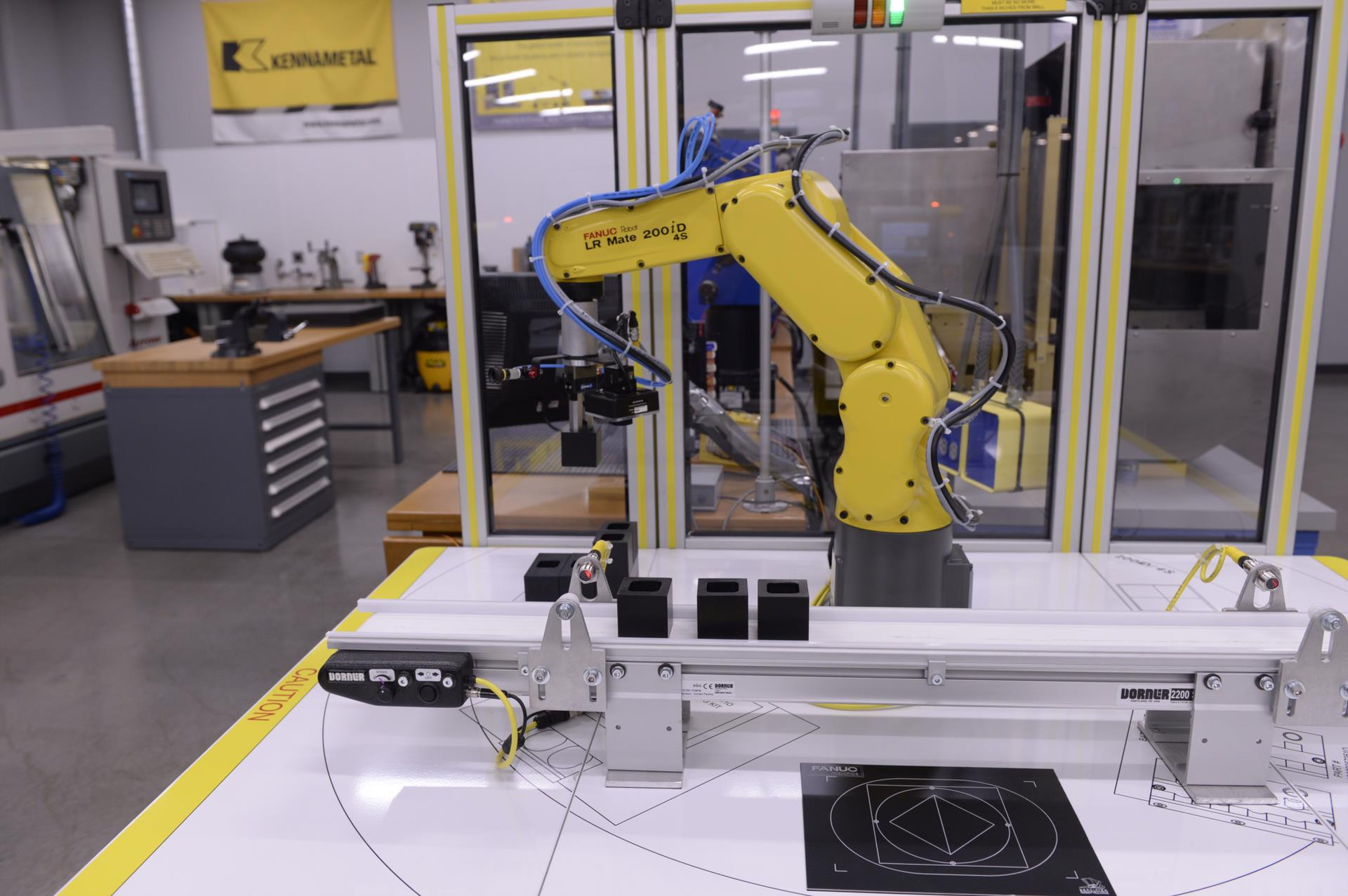 A picture of a robotic arm