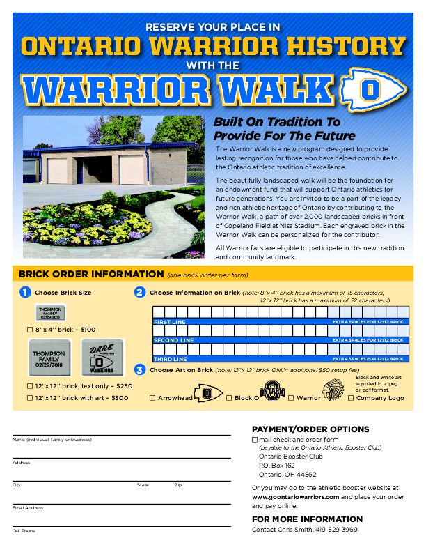 warrior walk