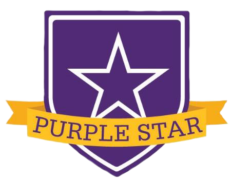 purple star shield
