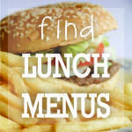 Find Lunch Menus