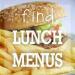 Find Lunch Menus