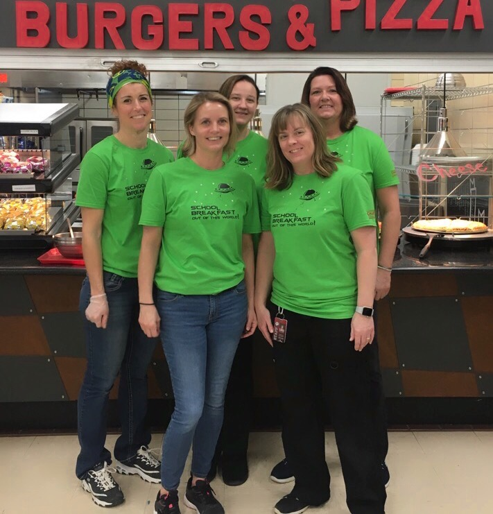 CHS Food Service Staff Members (2020-21)