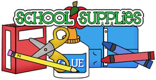 School Supplies free clipart