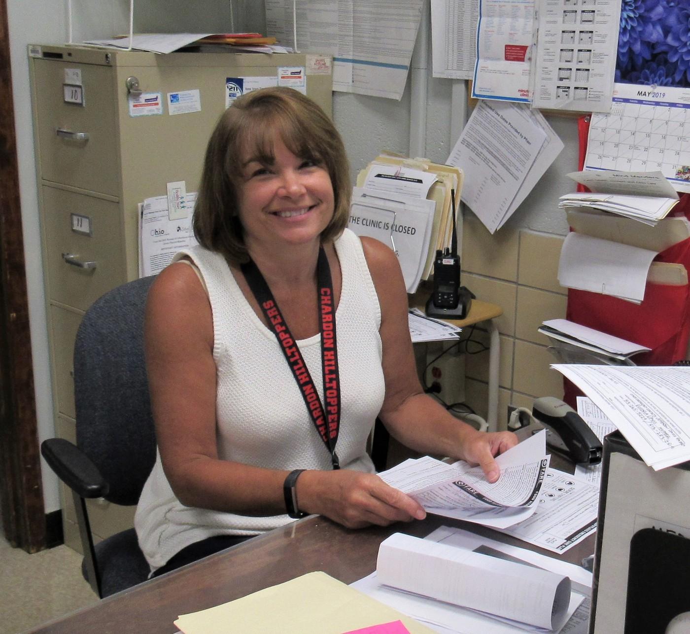 Janice Hoffmann, School Nurse