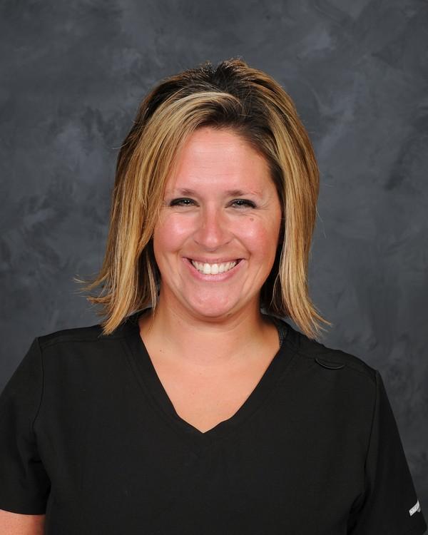 staff photo of Sarah Park, Chardon Schools Nurse [photo credit:  Pastor Photography]