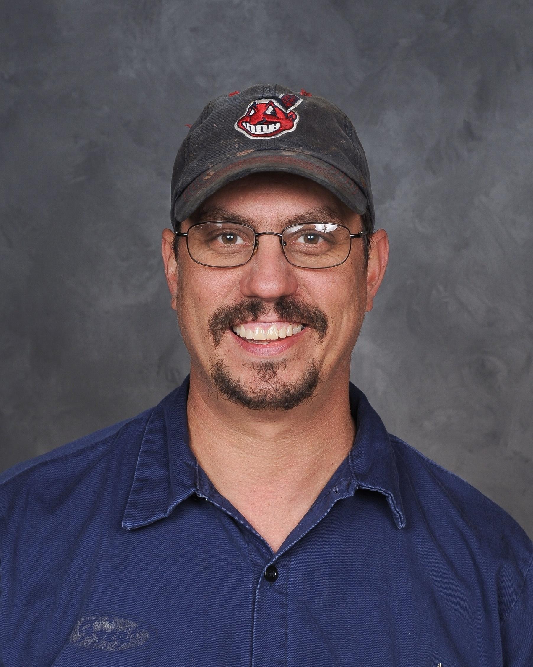 Greg Ridgeway, Lead Mechanic [staff photo:  Pastor Photography]