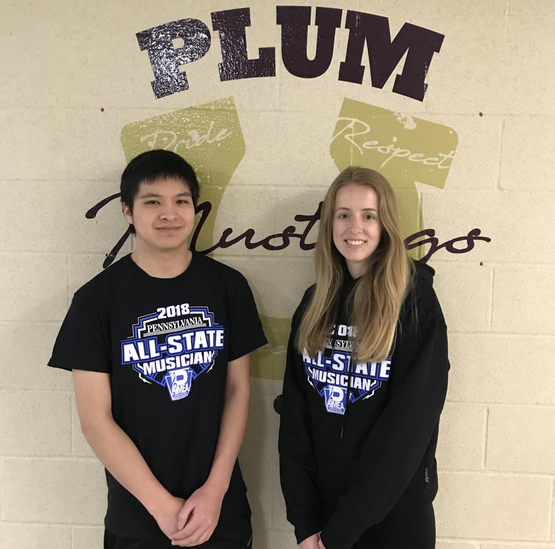 All-State Orchestra members