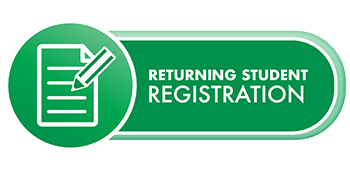 Returning student registration button