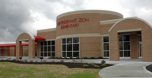 Front Entrance of Crittenden-Mt. Zion Elementary
