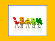 "Graphic of word ""LEARN"""