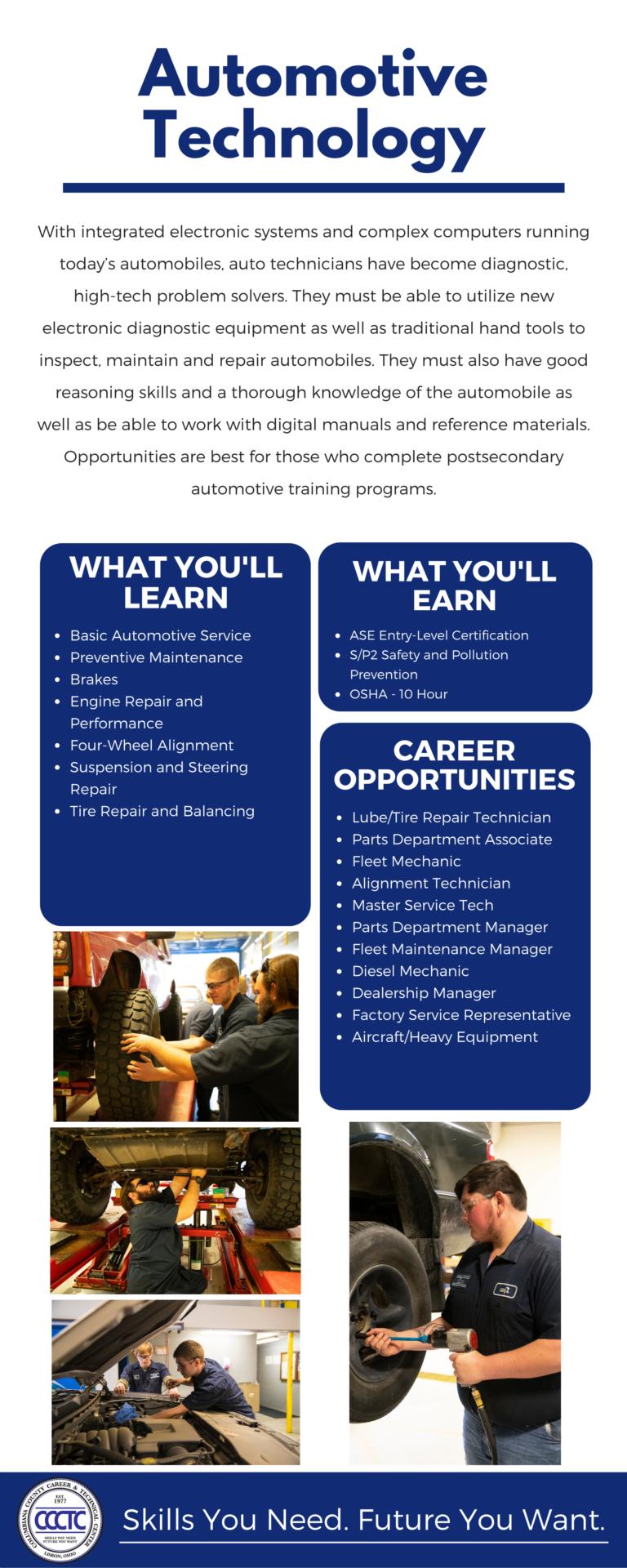 Auto Technology Program Info