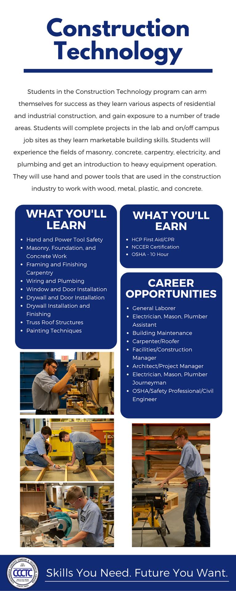 Construction Technology Program Info