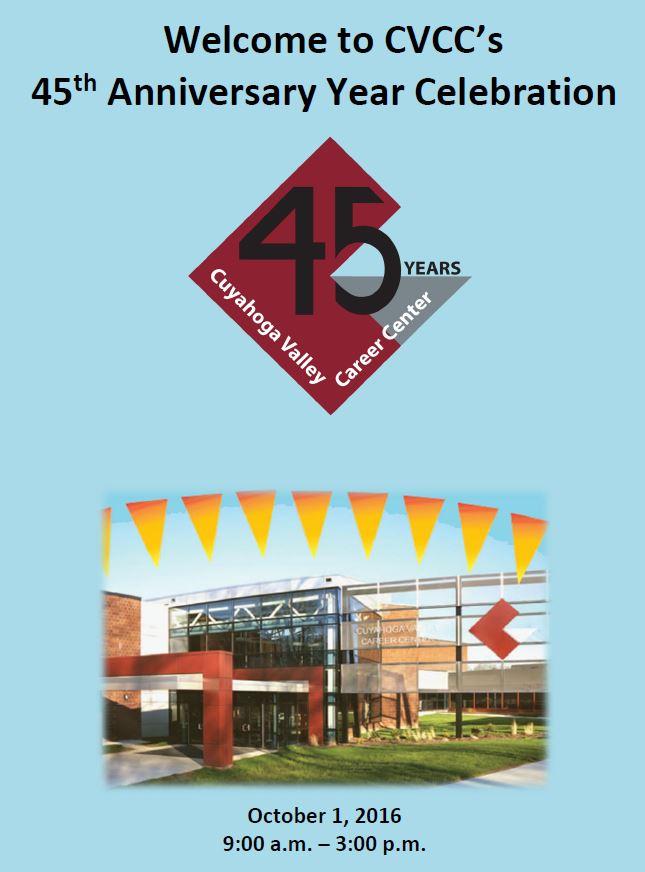 CVCC's 45th Celebration Program