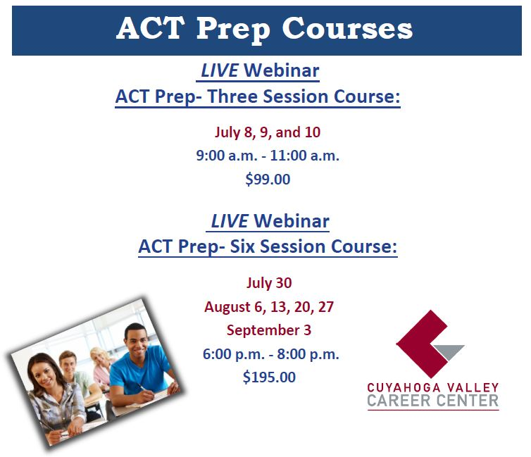 ACT Test Prep Course Information