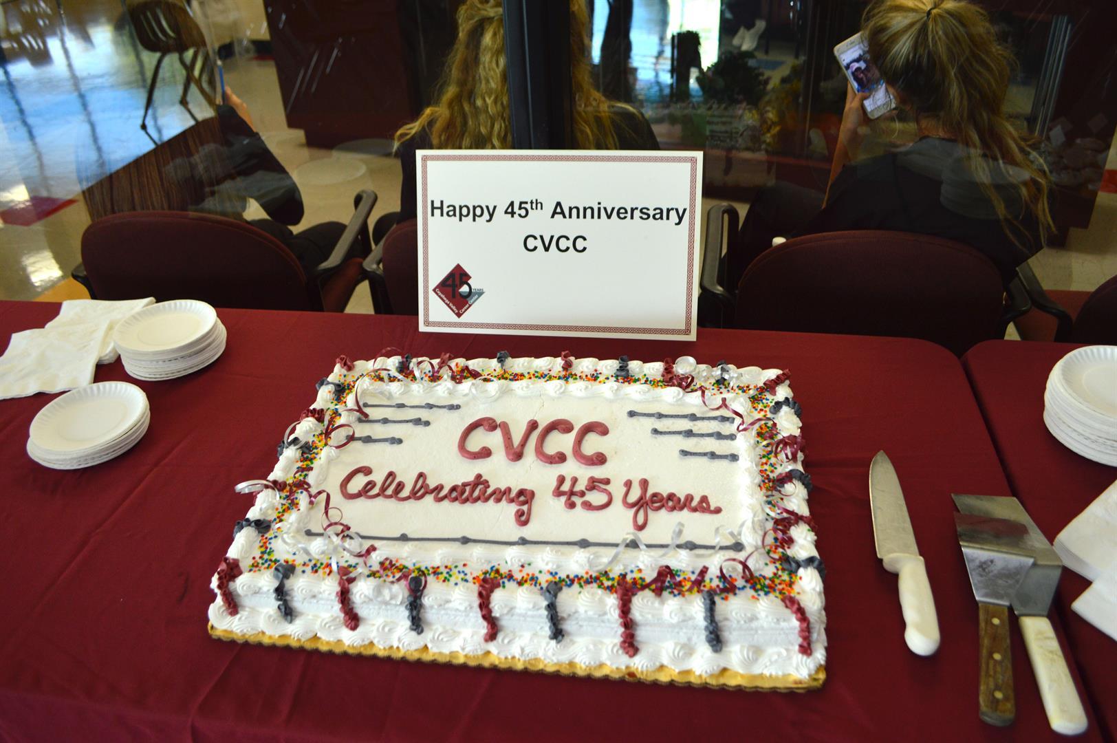 CVCC Celebrates 45 Years
