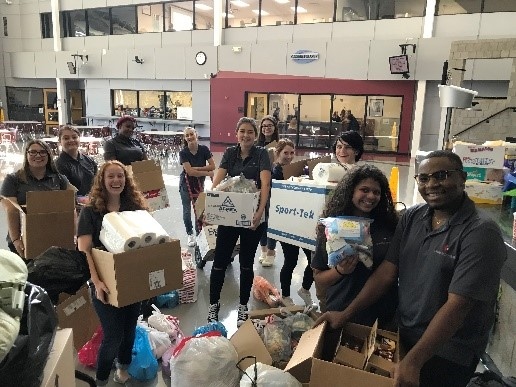 Teaching Professions Students Organizing Donations