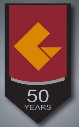 CVCC 50 Years logo