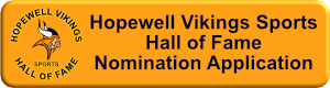 Hall of Fame Nomination Application
